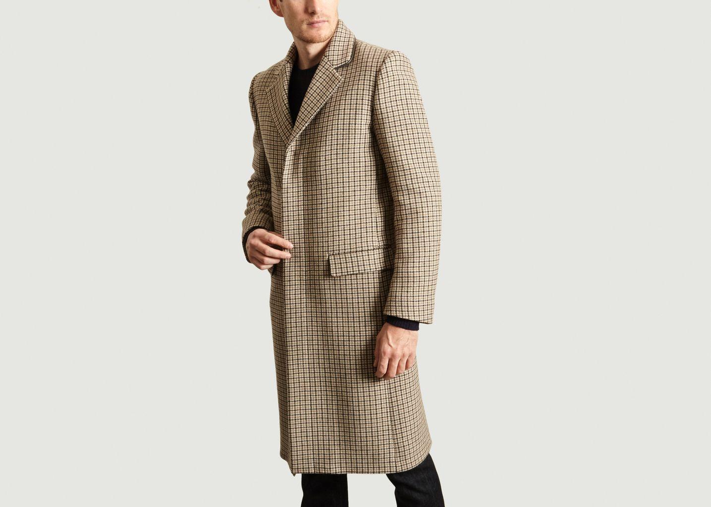 Manteau Pied de Poule - agnès b.
