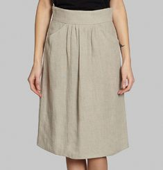 Knee Length Skirt