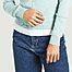 matière Cardigan en coton Swing Nacre - agnès b.