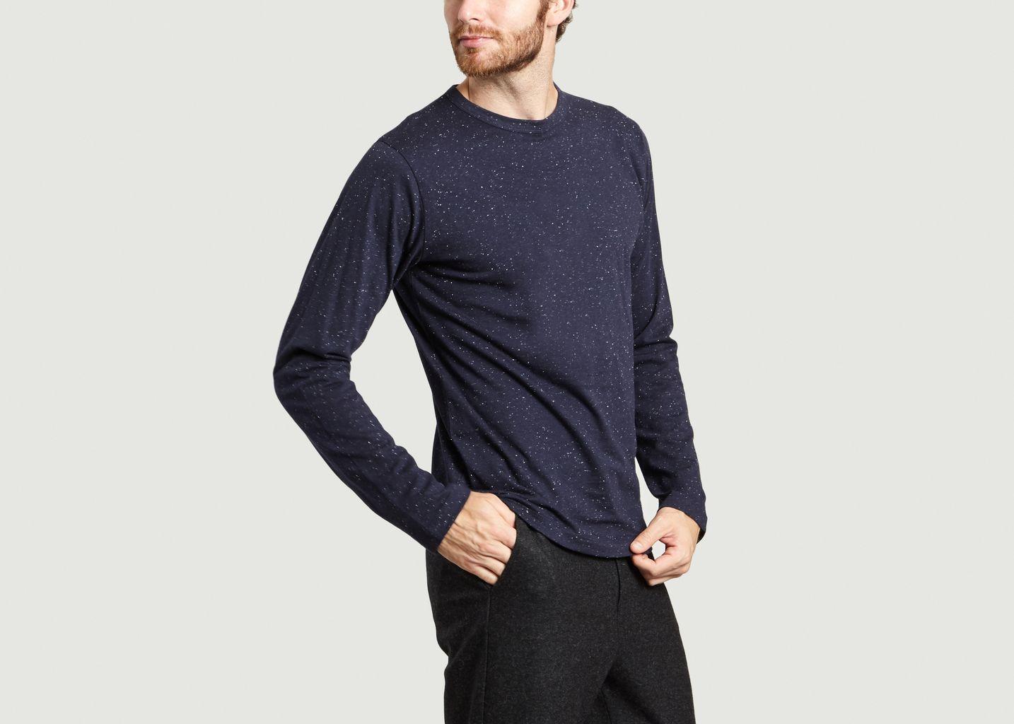 Tight T Shirt Navy Blue Agns B Lexception