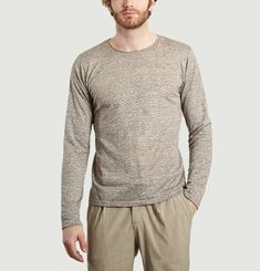Rolled Collar T-shirt