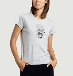 T-shirt Priscille Depinay