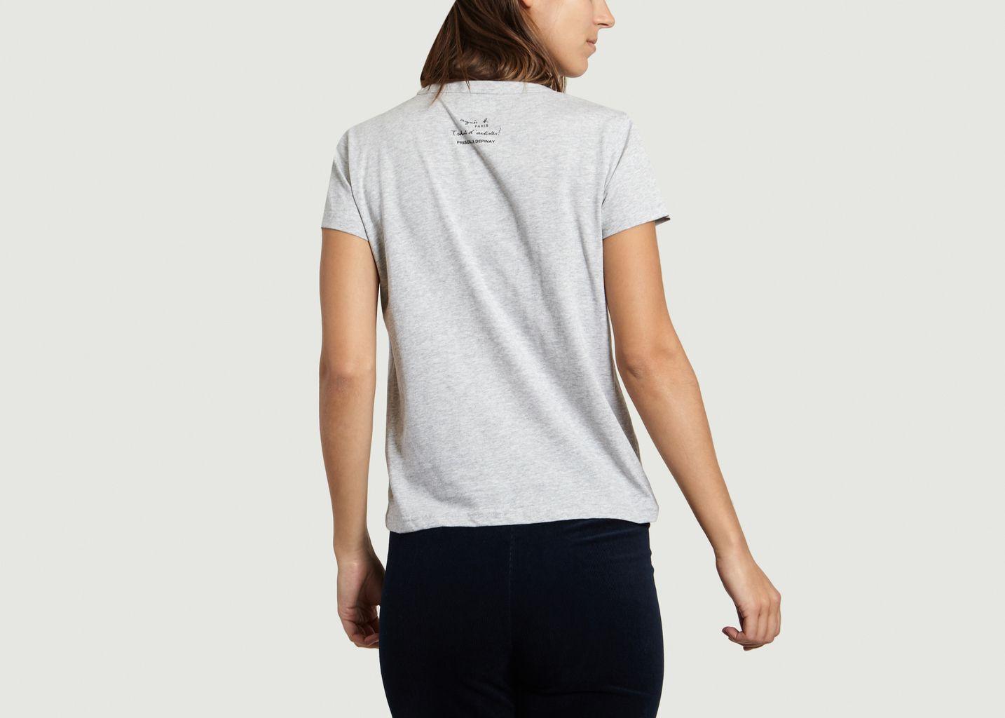 T-shirt Priscille Depinay - agnès b.