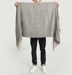 Eddy Chequered Scarf