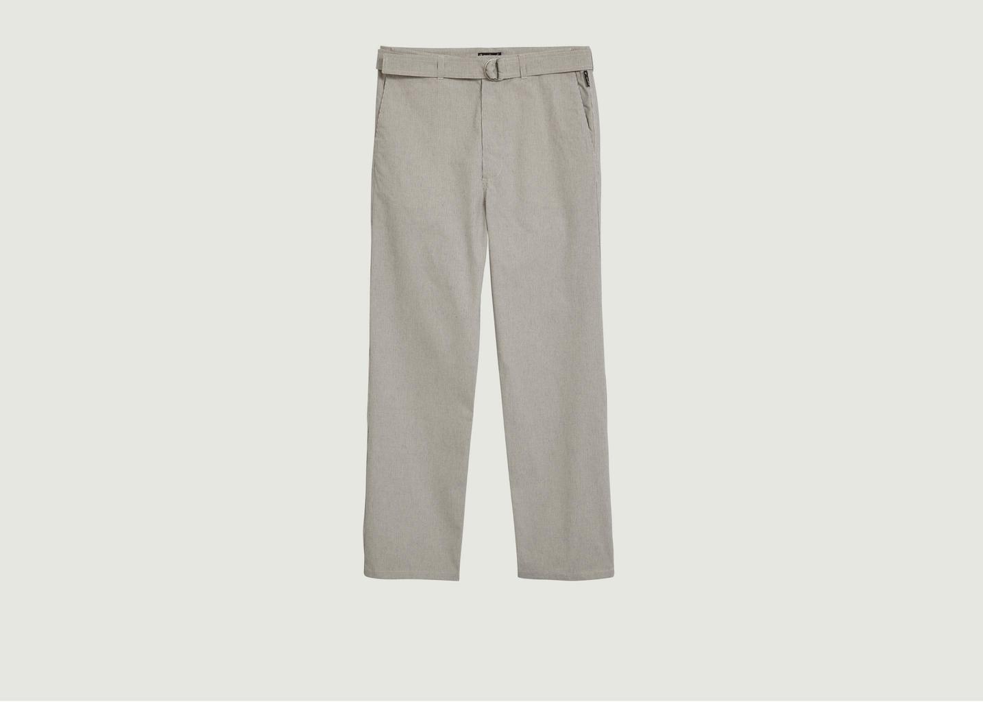 Pantalon Armand à ceinture boucle  - agnès b.