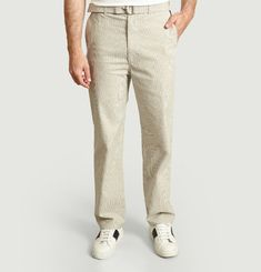Armand trousers with buckle belt