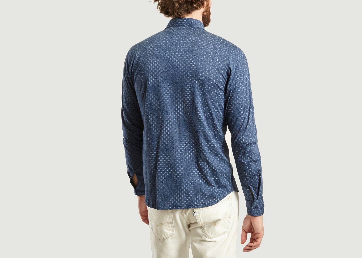 Chemise John en jersey de coton - agnès b.
