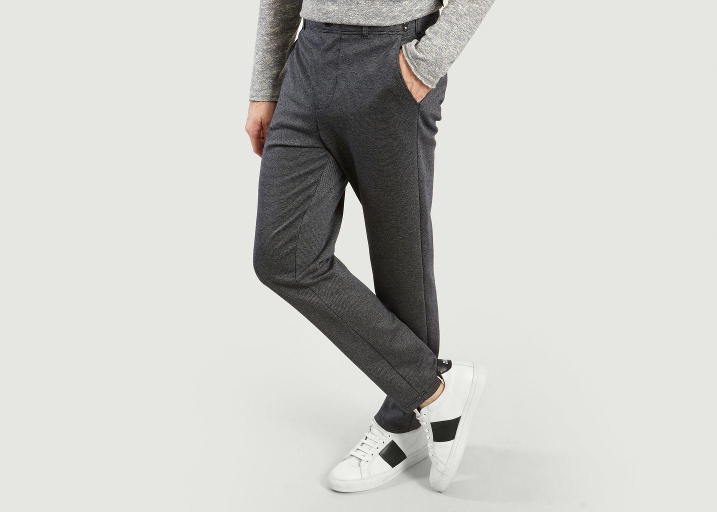 Pantalon Jacquard Motor - agnès b.
