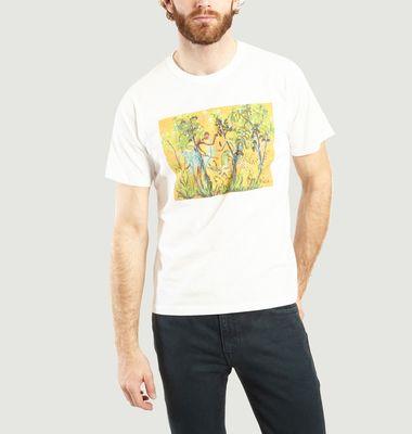 T-shirt Coulos imprimé en coton