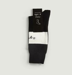 Agnes Socks With Logo