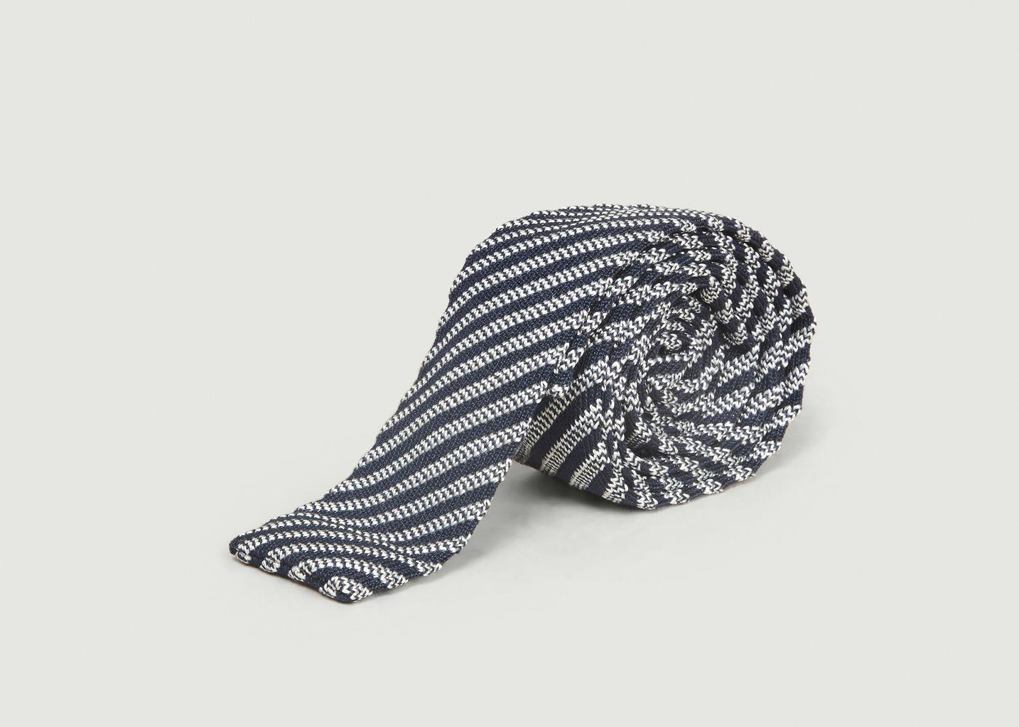 Cravate Rayée Enry - agnès b.