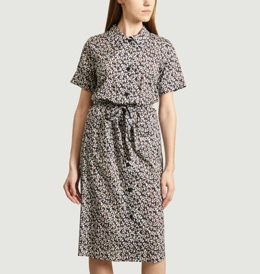 BB shirt dress with floral print