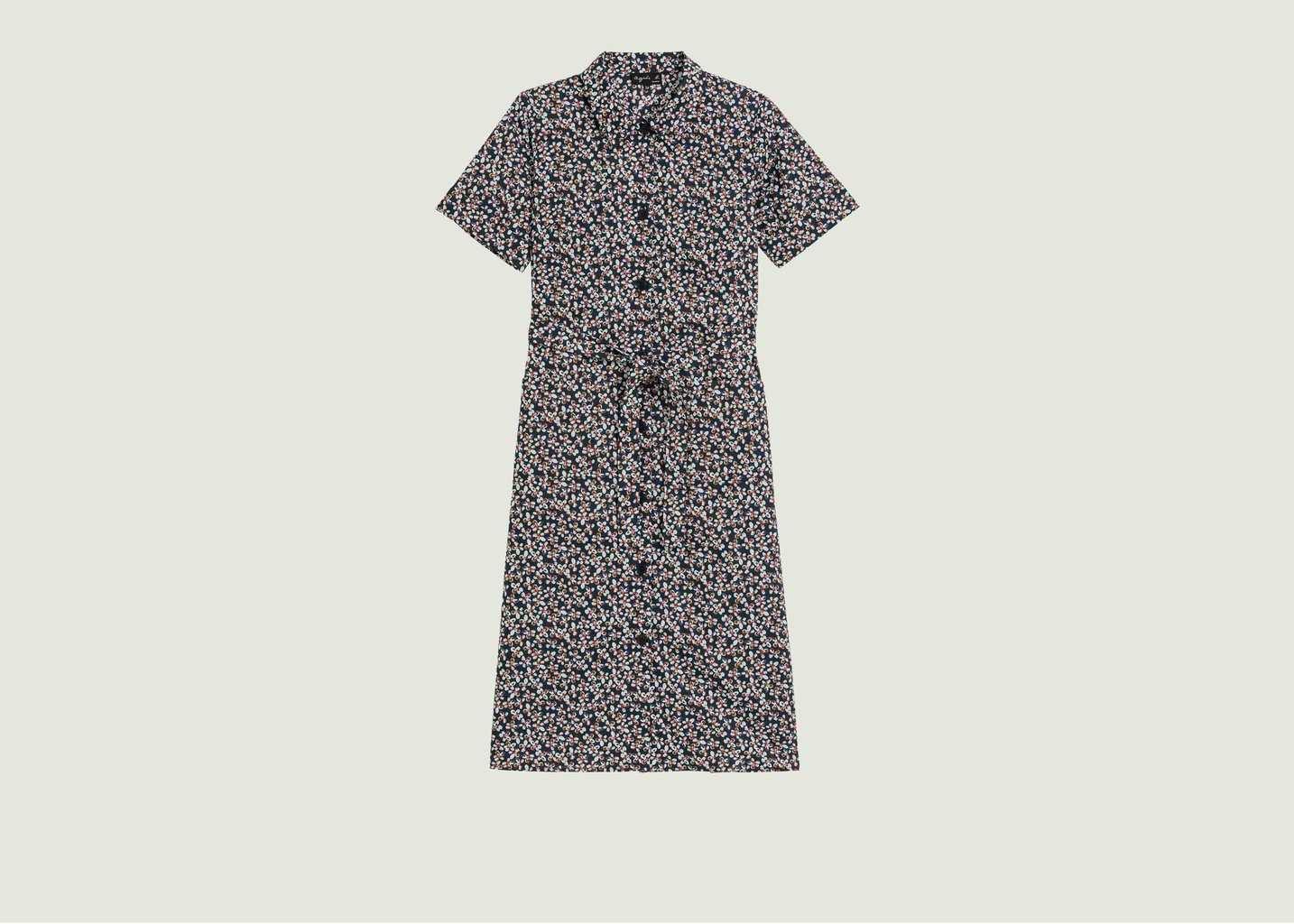 Robe chemise BB imprimé fleuri - agnès b.