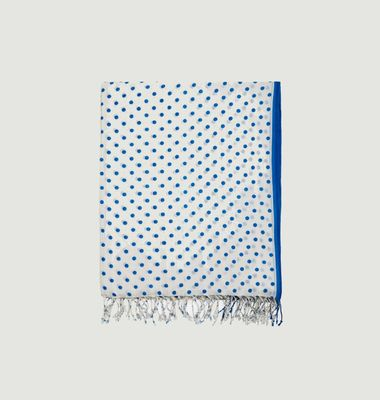 Mary polka dot cotton scarf