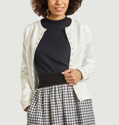 Rosana fleece cardigan