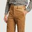 matière Pantalon en velours côtelé  - agnès b.