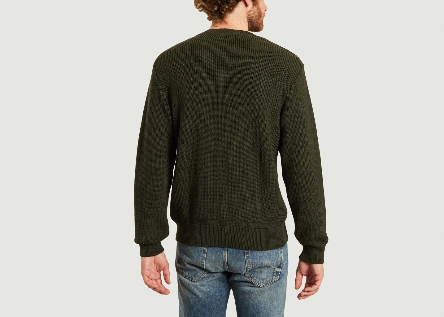 Pull Carnac en laine mérinos  - agnès b.