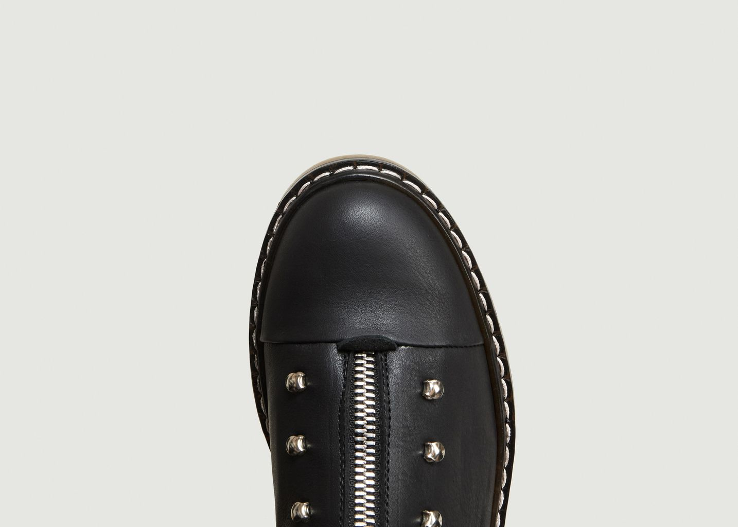 Soldes Bottines En Cuir Danalo Noir An Hour And A Shower à -50%   L ... 84605970bf8