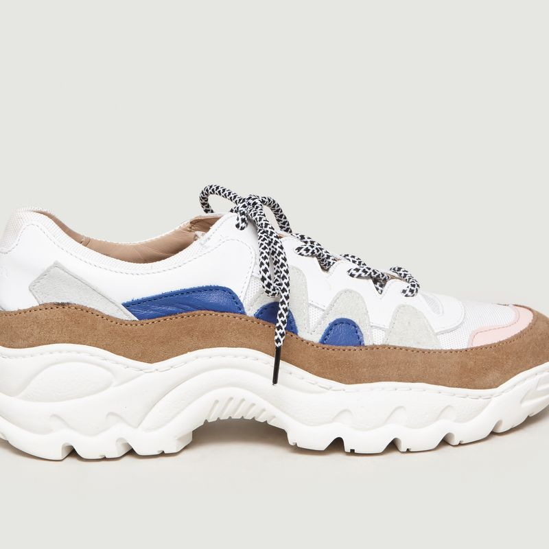 Creamy Running Shoes Multicolor An Hour