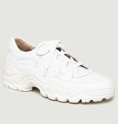 Creamy Running Shoes
