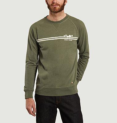 Sweatshirt recyclé mixte