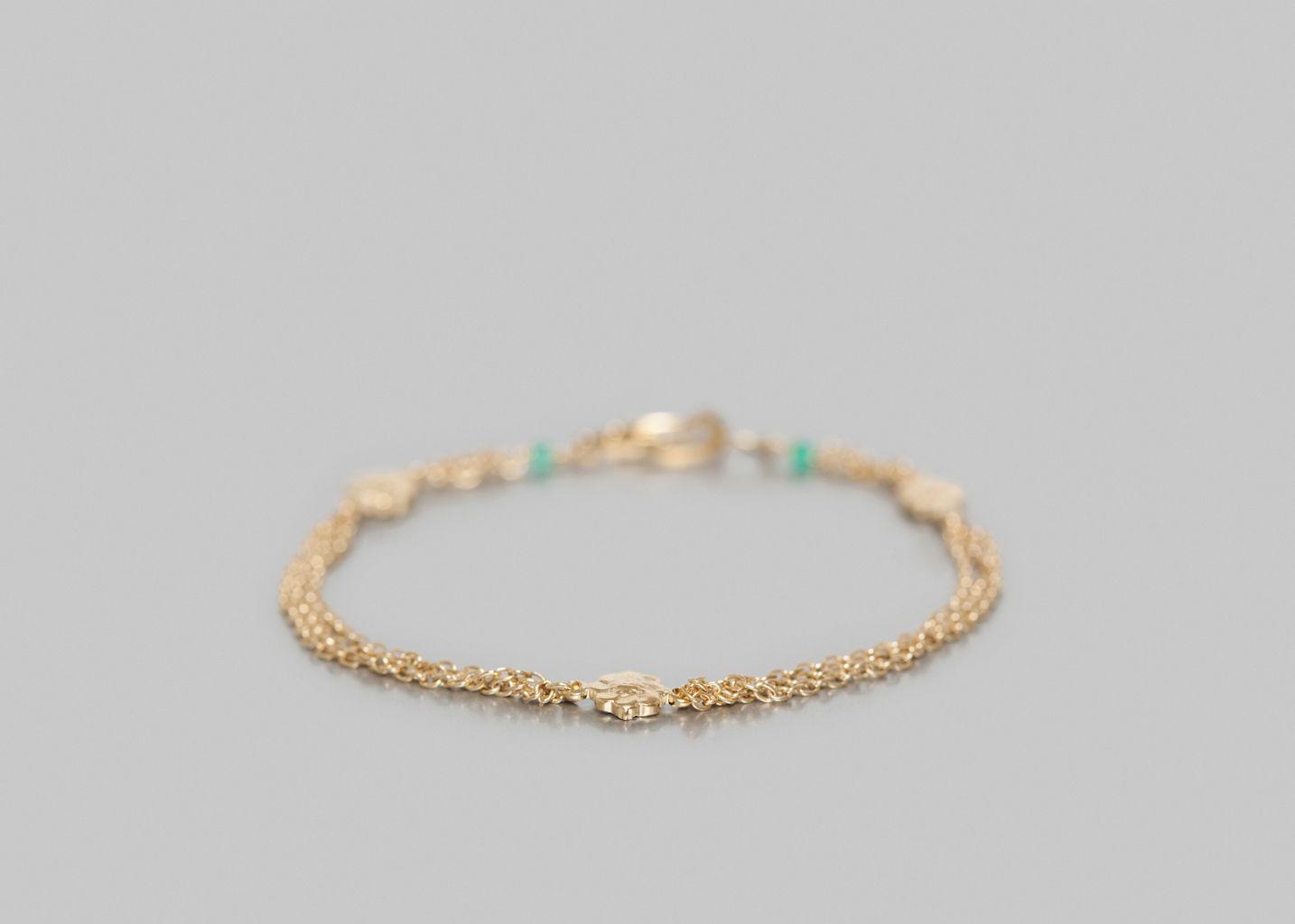Bracelet Fleurs - Aime