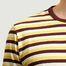 matière T-shirt Fletcher Stripe - Albam