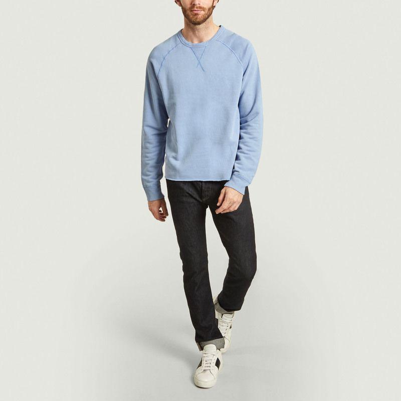 Sweatshirt raglan coton et chanvre - Albam