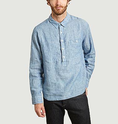 Chemise en lin oversize Pullover Carpenters