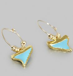 Shark Earrings