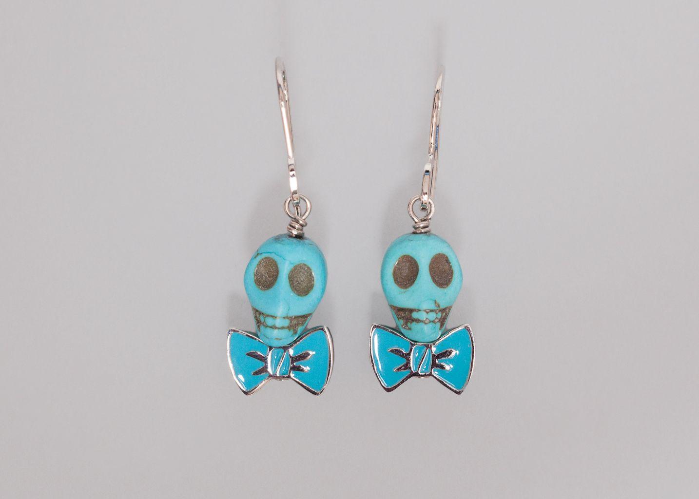 Boucles d'oreilles Skull - Alexis Mabille