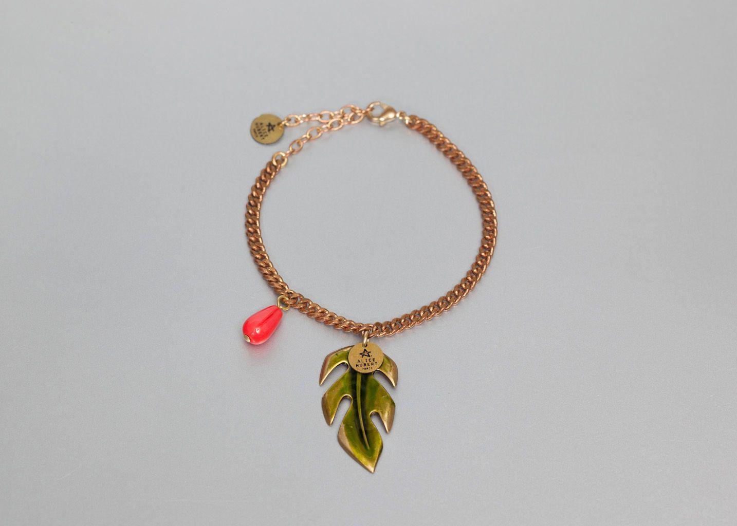 Bracelet Feuille - Alice Hubert