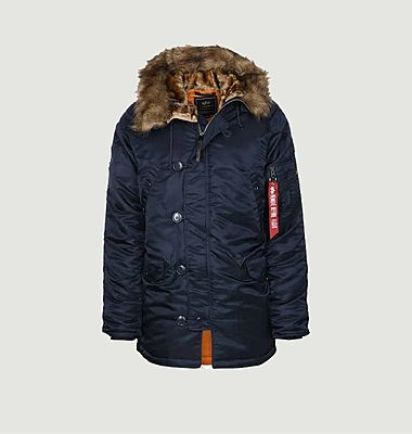 N3B VF 59 parka with fur lined hood