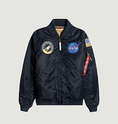 Alpha Industries x NASA MA-1 VF zipped jacket