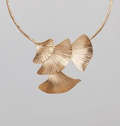 4 Arum Leaves Necklace