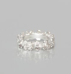 Daisy Clover Crown Ring