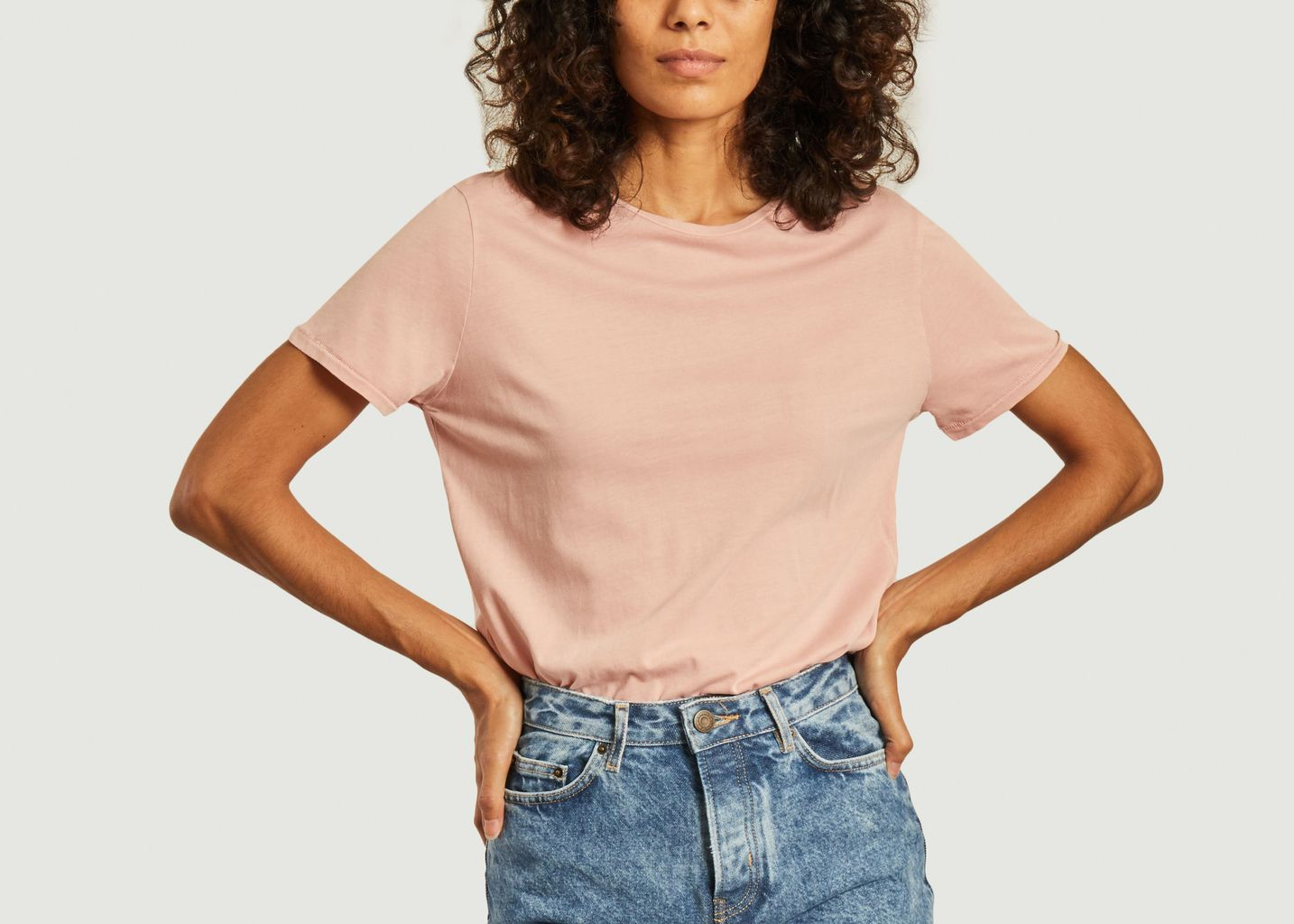 T-shirt vegiflower en coton recyclé  - American Vintage