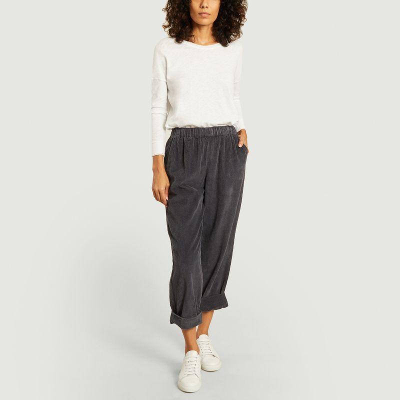 Pantalon Padow en coton côtelé  - American Vintage