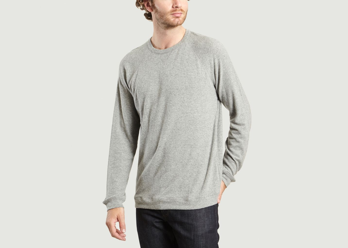 American L'exception Vetington Sweat Vintage Gris wBnqf
