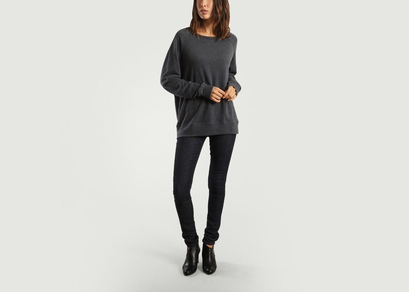 6684965a6307 Toubobeach Sweat American Vintage L exception Anthracite Awwgd