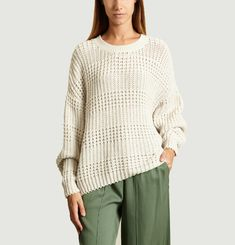 Pull Camobird Grosse Maille