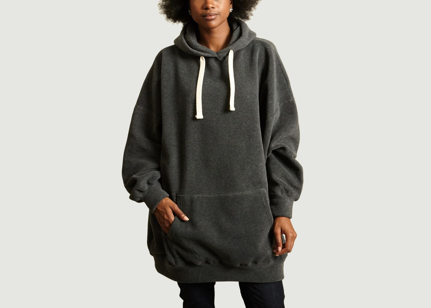 Sweat Poladouce Oversized Anthracite American