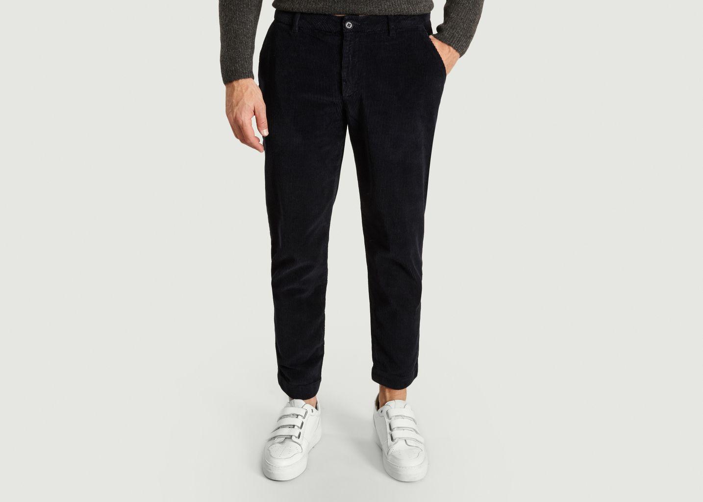 Pantalon Chino Nukisville en Velours - American Vintage