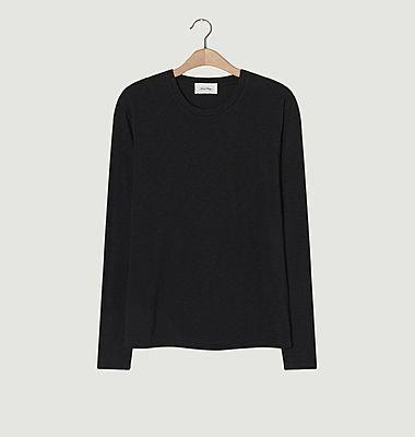 T-shirt manches longues en coton flamé Bysapick