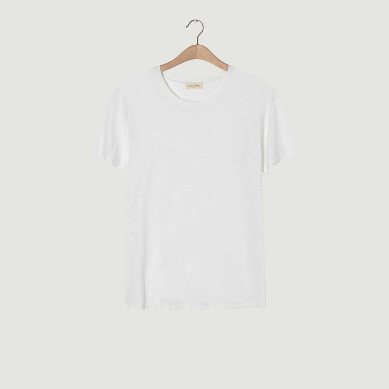 T-shirt ajusté en coton flammé Bysapick - American Vintage