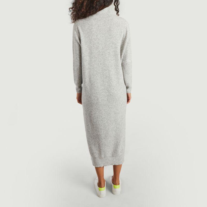 Robe longue manches longues en maille Noxon - American Vintage