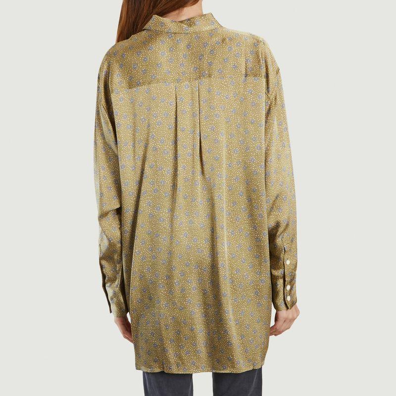 Chemise longue à motif fleuri Gintown - American Vintage
