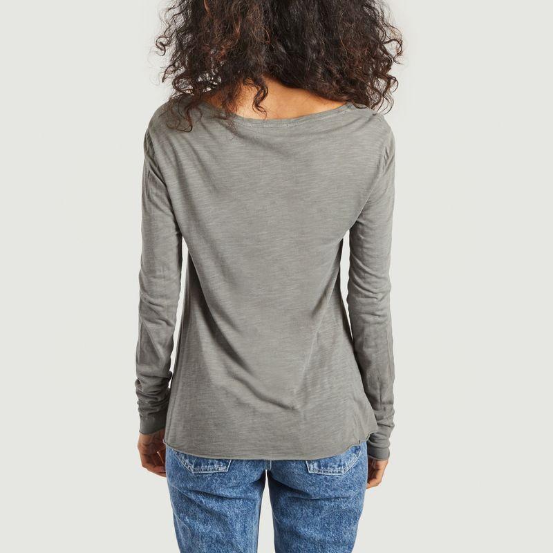 T-shirt manches longues col V Jacksonville - American Vintage