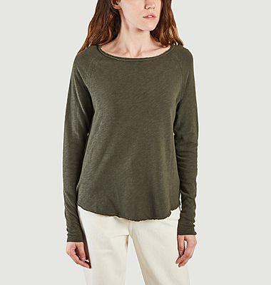 T-shirt manches longues en coton Sonoma