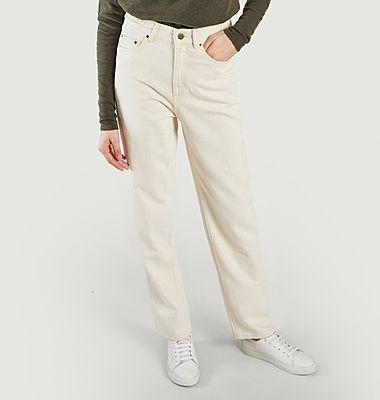 Tineborow high waist straight jeans